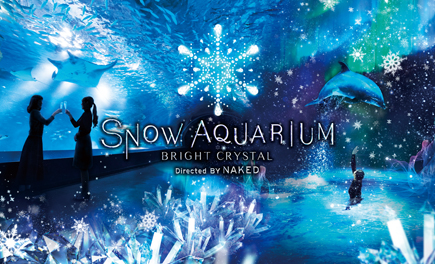 「SNOW AQUARIUM -BRIGHT CRYSTAL- Directed BY NAKED」開催!